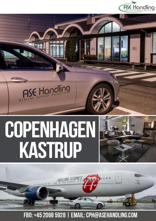 ASE Handling - Denmark, Sweden & Thailand - Copenhagen EKCH/CPH
