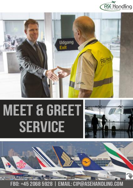 ASE Handling - Denmark, Sweden & Thailand - Meet & Greet