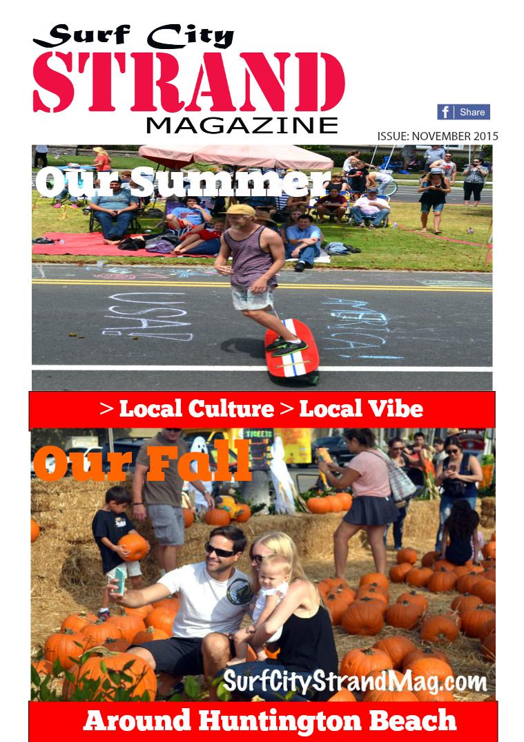 Thirdcloud Publications Surf City Strand Mag November 2015