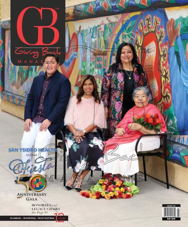 Giving Back Magazine May 2019