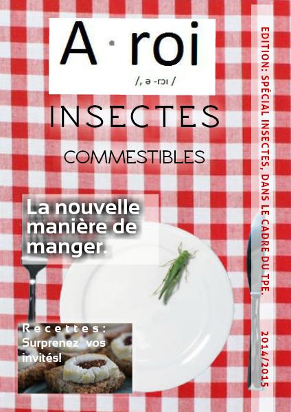 TPE: Insectes Comestibles Mars 2015