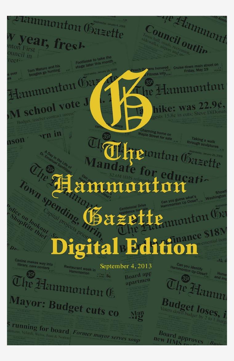 The Hammonton Gazette 09/04/13