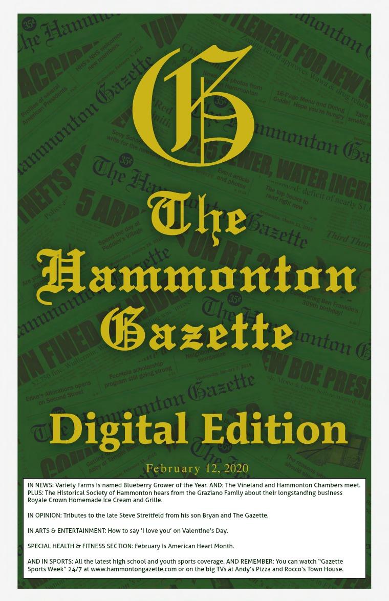 The Hammonton Gazette 02/12/20 Edition