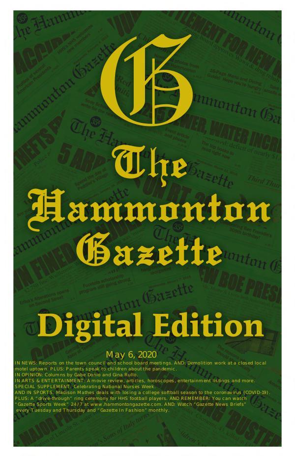 050620  Digital Edition of The Hammonton Gazette