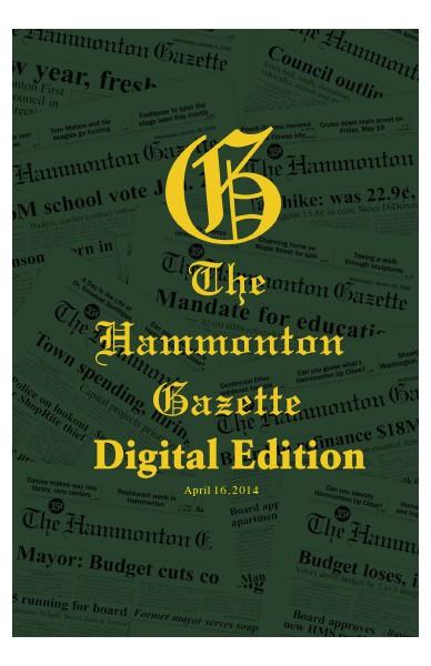 The Hammonton Gazette 04/16/2014