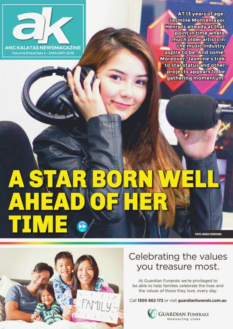 Ang Kalatas January 2018 Issue