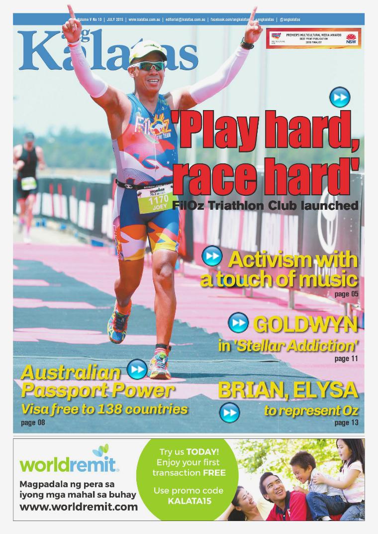 Ang Kalatas Volume V July 2015 Issue