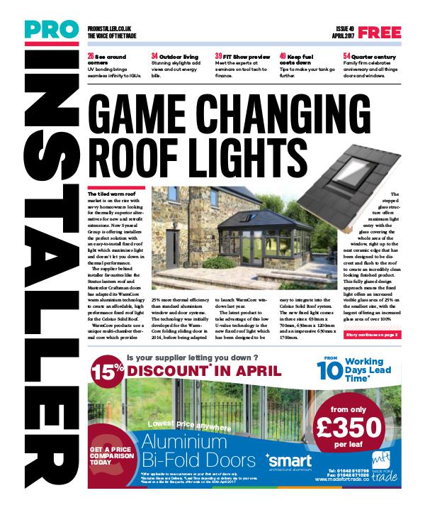 Pro Installer April 2017 - Issue 49