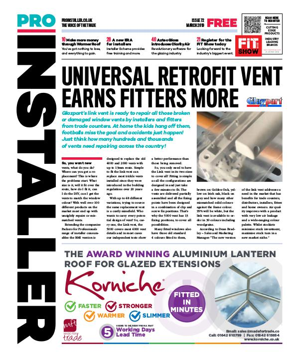 Pro Installer March 2019 - Issue 72