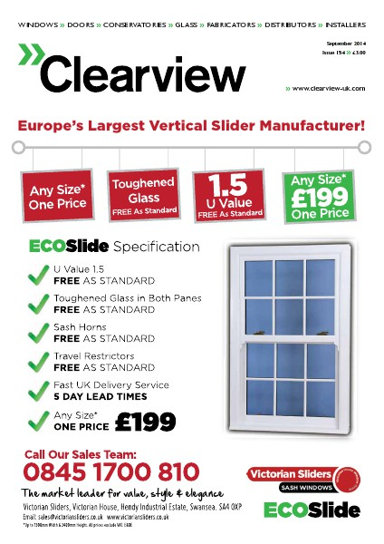 Clearview Midlands September 2014 - Issue 154