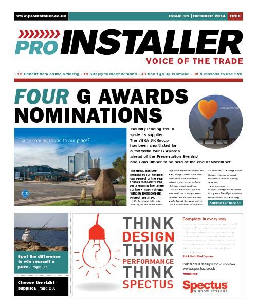 Pro Installer October 2014 - Issue 19