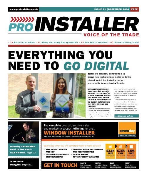 Pro Installer December 2014 - Issue 21