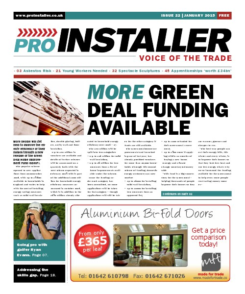 Pro Installer January 2015 - Issue 22