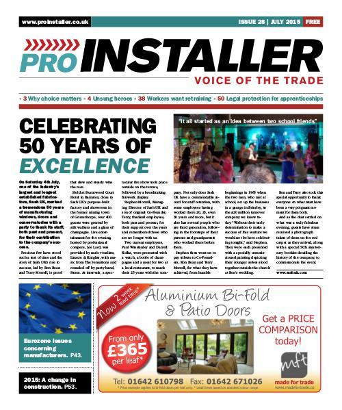Pro Installer July 2015 - Issue 28