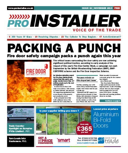 Pro Installer November 2015 - Issue 32