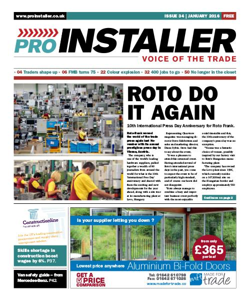January 2016 - Issue 34
