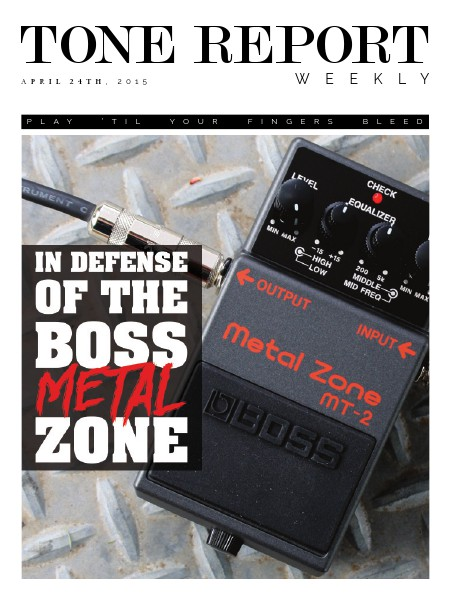 Tone Report Weekly Issue 72