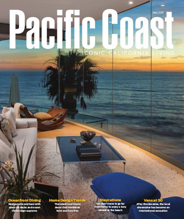 Pacific Coast Magazine Fall/Winter 2017