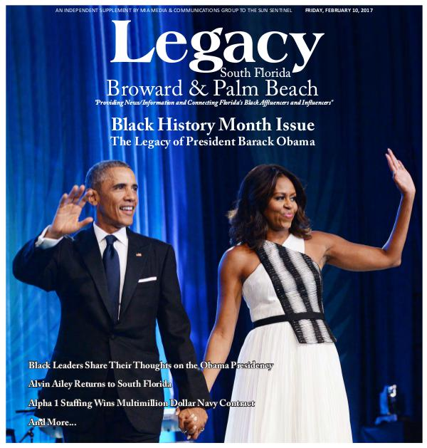 2017 South Florida: Black History Month Issue