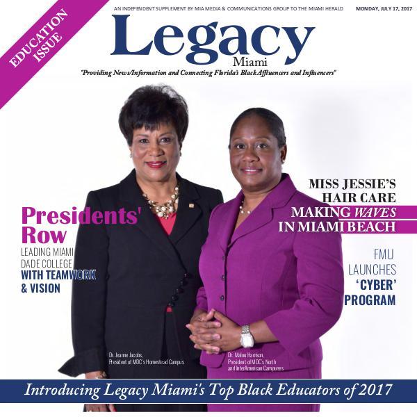 2017 Miami: Top Black Educators Issue
