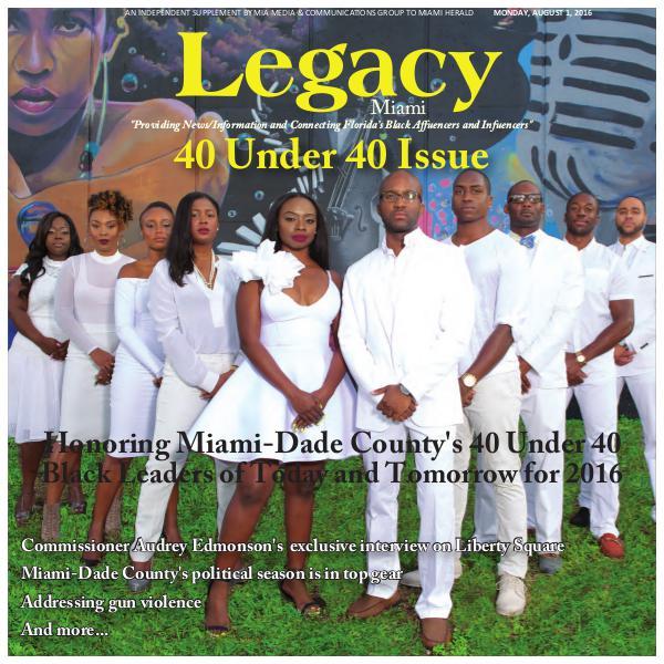 2016 Miami: 40 Under 40 Issue