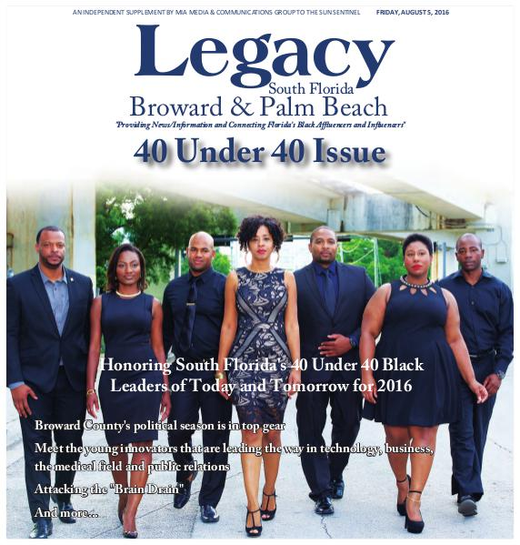2016 South Florida: 40 Under 40 Issue