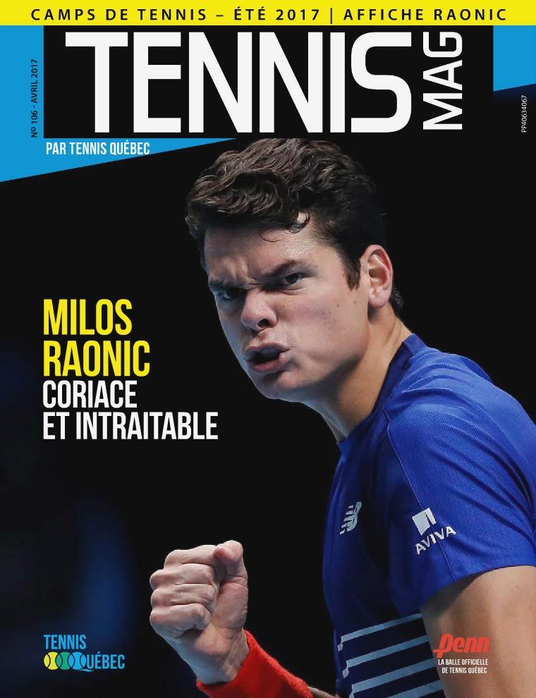 Tennis-mag #106 - Avril 2017 Tennis-mag#106 - Avril 2017