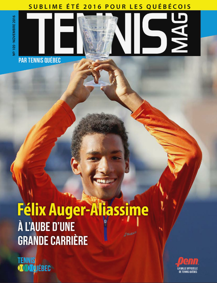 Tennis-mag no 105 - Novembre 2016 Tennis-mag no 105