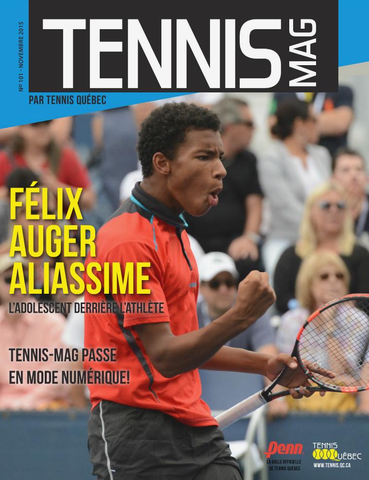 Tennis-mag #101 - Novembre 2015 Tennis-mag no 101