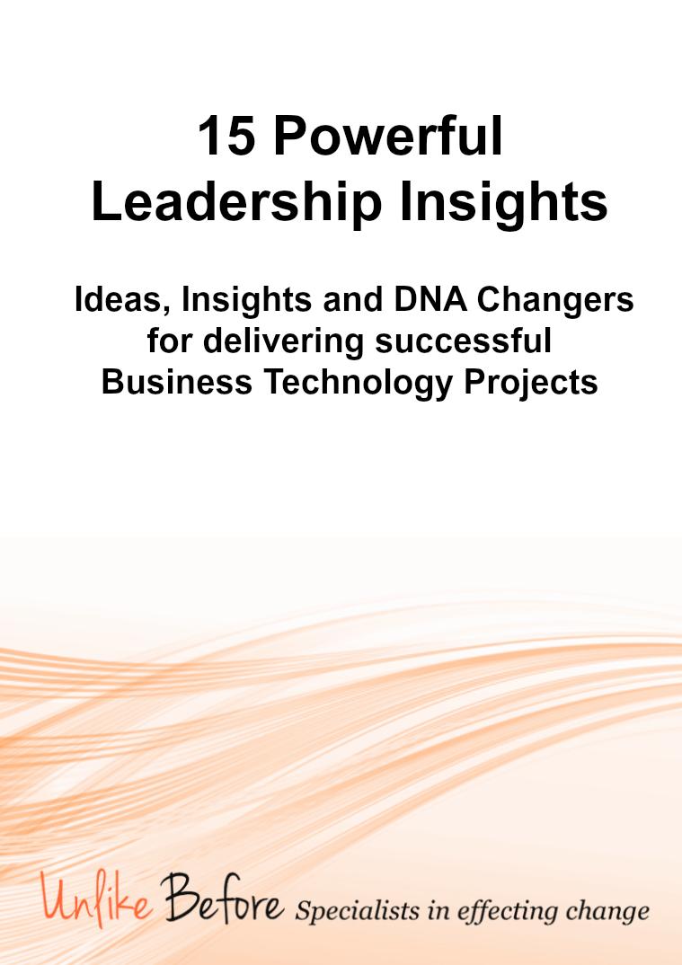 Unlike Before Leadership 15 Powerful Leadership Insights