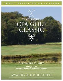 Golf Classic Awards & Highlights 2017-18