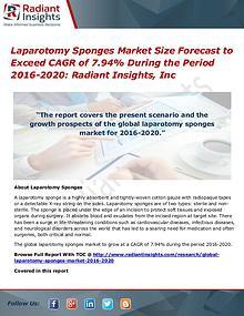 Laparotomy Sponges Market Size Forecast to Exceed CAGR of 7.94%