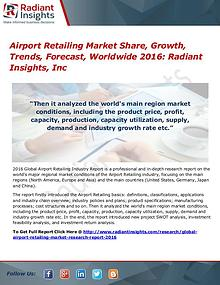 Airport Retailing Market Share, Growth, Trends, Forecast, Worldwide