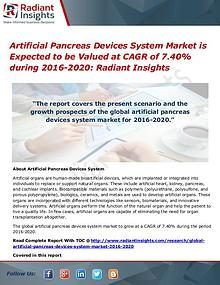 Artificial Pancreas Devices System Market