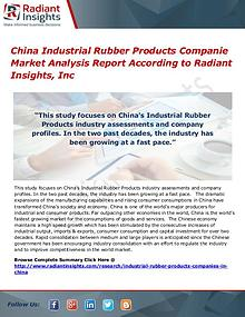 China Industrial Rubber Products Companie Market
