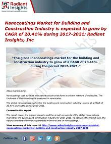 Nanocoatings Market for Building and Construction Industry