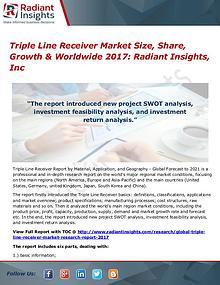 Triple Line Receiver Market Size, Share, Growth & Worldwide 2017