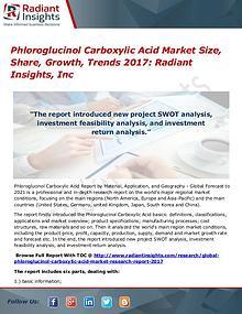Phloroglucinol Carboxylic Acid Market Size, Share, Growth, Trend 2017