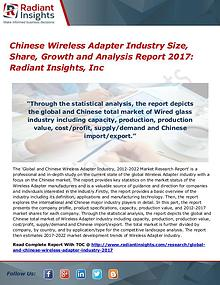 Chinese Wireless Adapter Industry Size, Share, Growth 2017