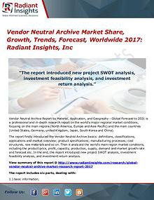 Vendor Neutral Archive Market Share, Growth, Trends, Forecast 2017