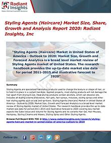 Styling Agents (Haircare) Market Size, Share, Growth 2017