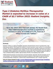 Type 2 Diabetes Mellitus Therapeutics Market 2022