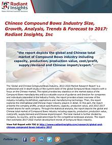 Chinese Compound Bows Industry Size, Growth, Analysis, Trends 2017