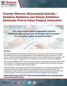 Frontier Pharma Rheumatoid Arthritis - Cytokine Mediators