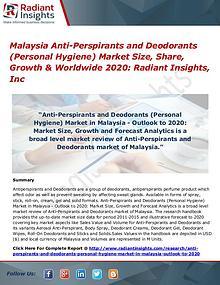 Malaysia Anti-Perspirants and Deodorants (Personal Hygiene) Market 20