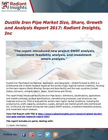 Ductile Iron Pipe Market Size, Share, Growth and Analysis Report 2017