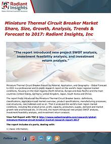 Miniature Thermal Circuit Breaker Market Share, Size, Growth 2017