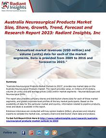 Australia Neurosurgical Products Market Size, Share, Growth 2023