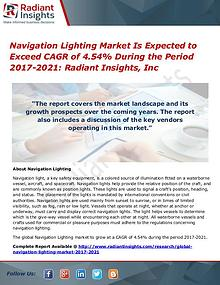 Navigation Lighting Market Is Expected to Exceed CAGR of 4.54%