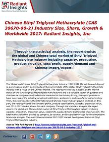 Chinese Ethyl Triglycol Methacrylate (CAS 39670-90-2) Industry 2017